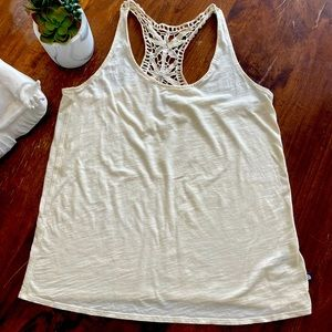 North Face Lace-Back Tank Top